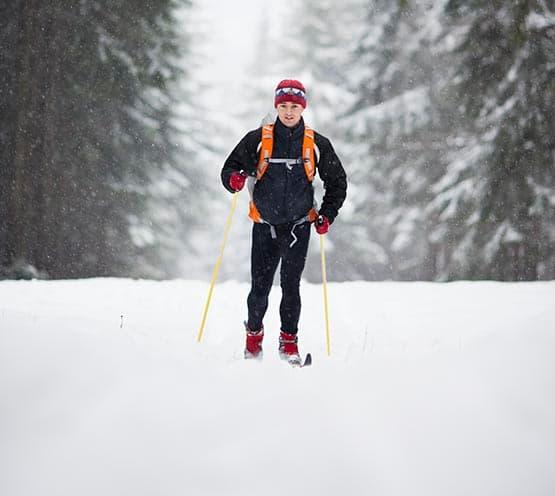 Esquí de fondo en Griegos